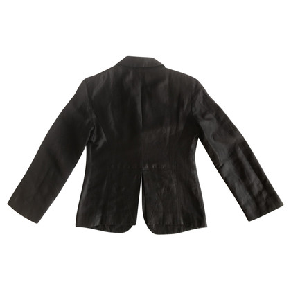 Costume National Blazer en forme de tabac marron