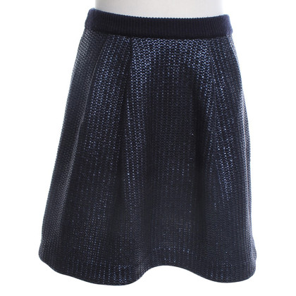 Tory Burch Brei rok in donkerblauw
