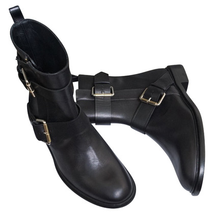 Proenza Schouler Buckled ankle boots