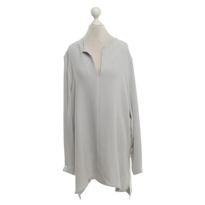 Joseph Silk blouse in light gray