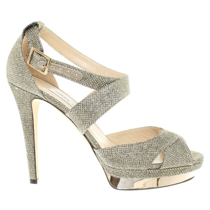 Jimmy Choo Sandali in oro