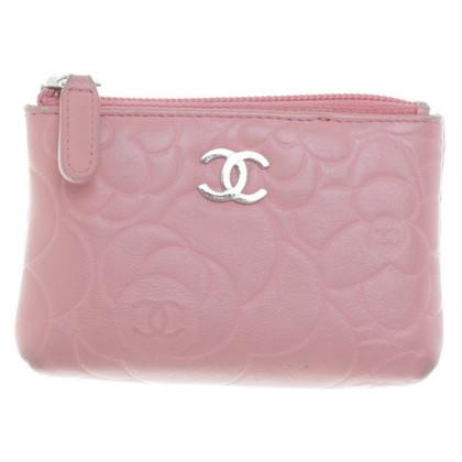 Chanel Schlüsseletui in Rosa