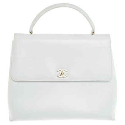 Chanel Handtas in White