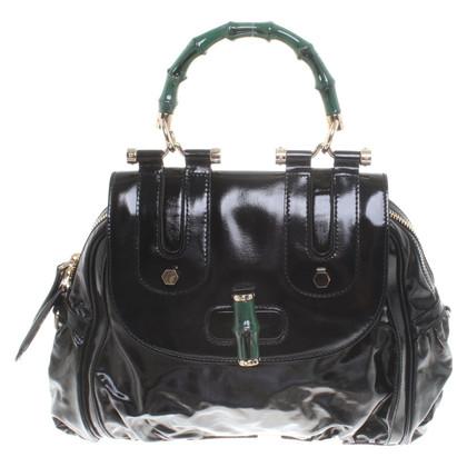 "Gucci ""Bamboo Bag"" in black"