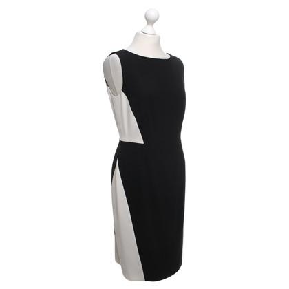 Paule Ka Dress in black and white