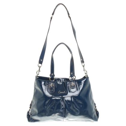 Coach Handtasche in Blau
