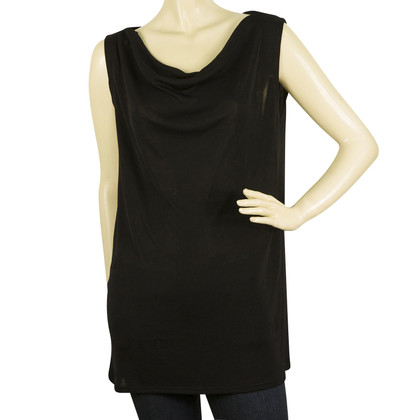 Fendi Black Sleeveless top