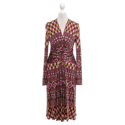 Issa Kleid mit geometrischem Muster