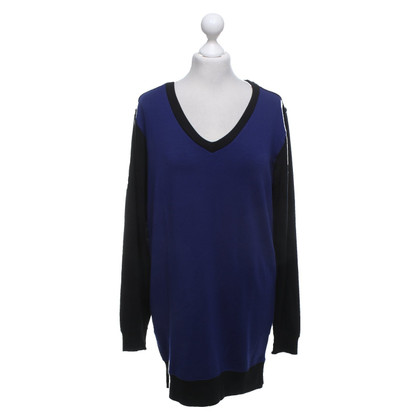 Jonathan Saunders Sweater in black / blue