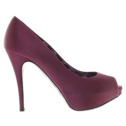 Dolce & Gabbana Peeptoes in Violett