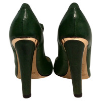 Jimmy Choo Peep-toes in green