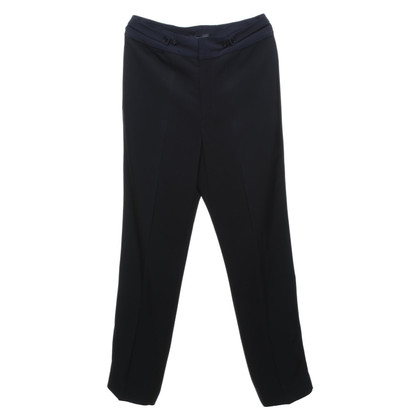 Marc by Marc Jacobs trousers in black / blue