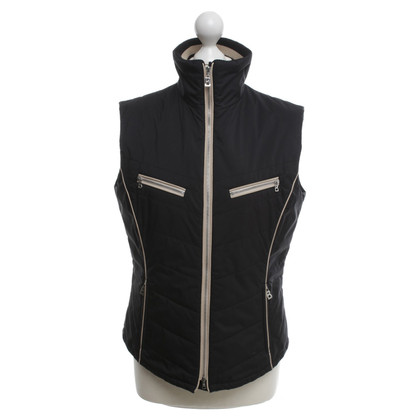 Bogner Vest in black / beige