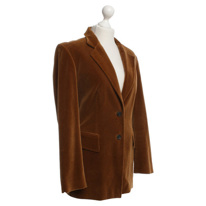 Cerruti 1881 Velvetblazer in brown