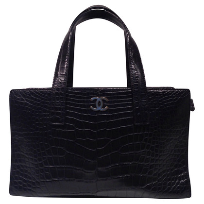 Chanel Shopper gemaakt van alligator leder