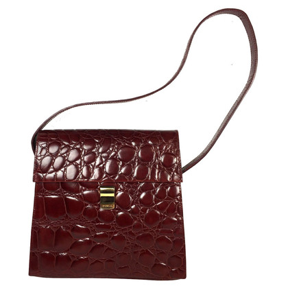 Furla Handbag in Bordeaux