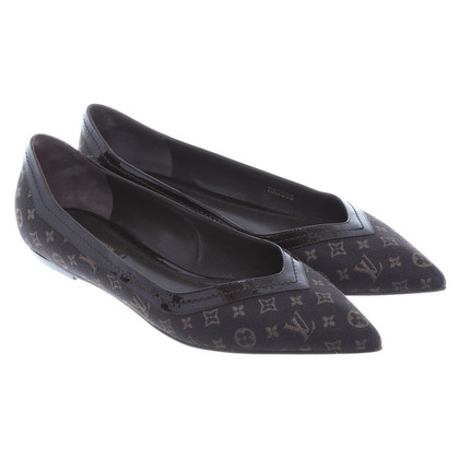 Louis Vuitton Ballerinas in Monogram Muster
