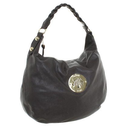 Mulberry Hobo Bag in grigio