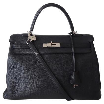 """Hermès """"Kelly Bag 35 Clémence leather"""""""