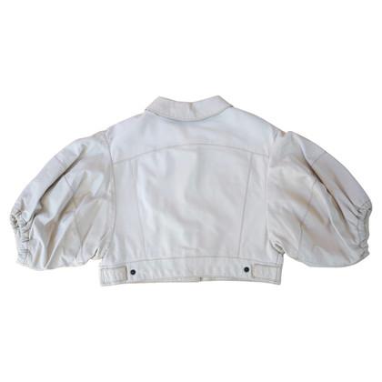 Miu Miu Short leather jacket