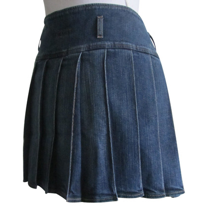 Burberry Jeans skirt with pleats