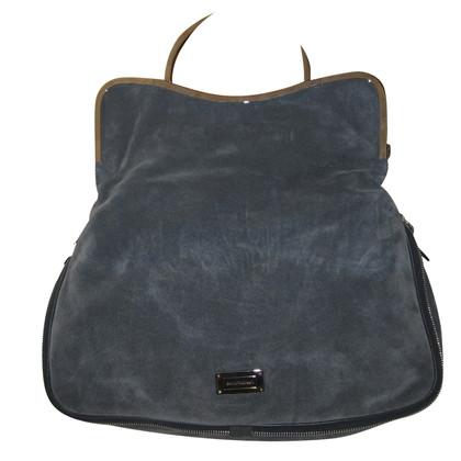 Armani Wildleder-Handtasche