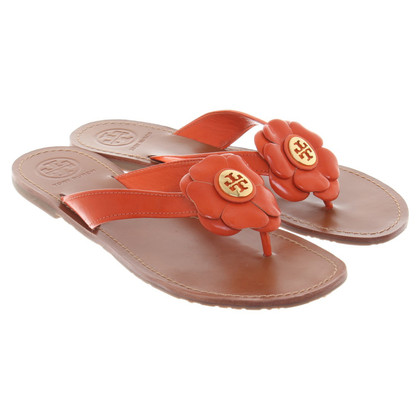 Tory Burch Sandals with flower application