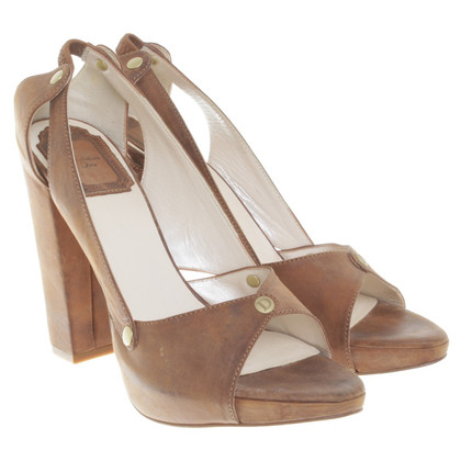 Christian Dior Sandals in brown