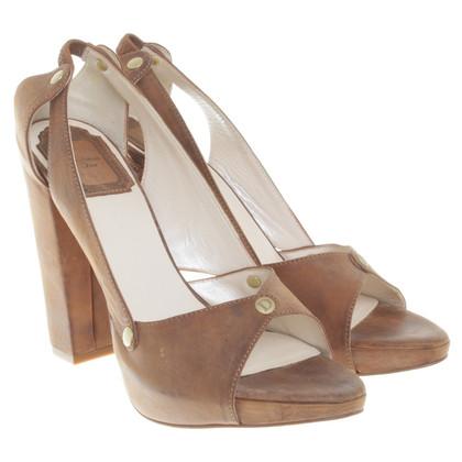 Christian Dior Sandali a Brown