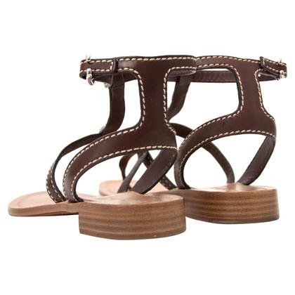 Prada Sandals with gemstone trimming
