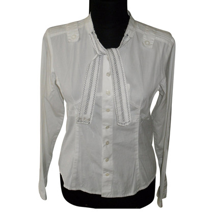 Marithé et Francois Girbaud Sloops blouse in white