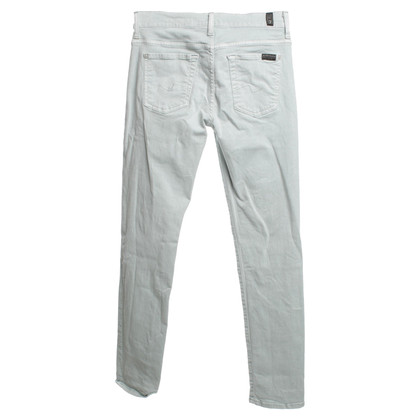 7 For All Mankind Jeans in mintgroen