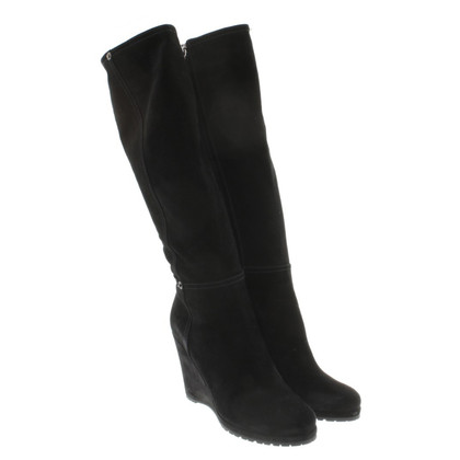 Prada Suede leather boots