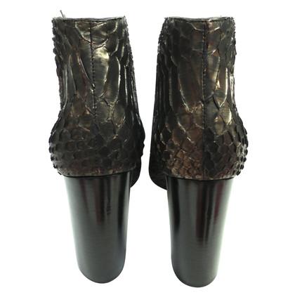 Tom Ford Stivali di pelle di rettile