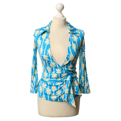 "Diane von Furstenberg Top ""Jill"" with pattern"