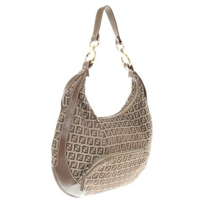 Fendi Shoulder bag with logo pattern