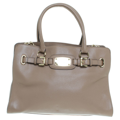 michael kors tasche in hellem taupe second hand michael. Black Bedroom Furniture Sets. Home Design Ideas