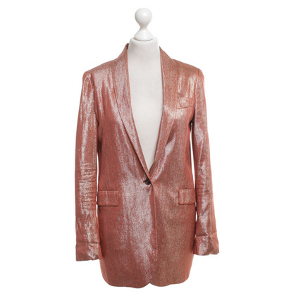 Gucci Lange blazer met glitter