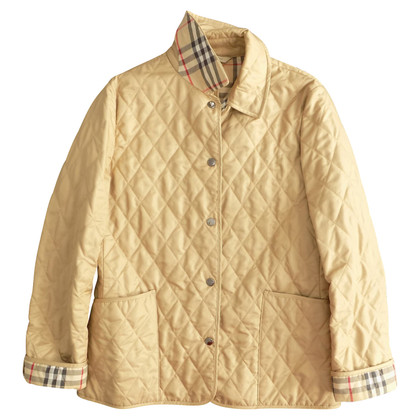 Burberry Veste matelassée en beige