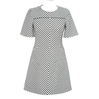 Karen Millen Kleid in Schwarz/Weiß