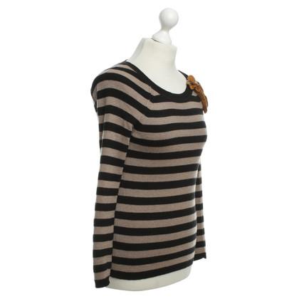 Sonia Rykiel Maglia in lana con motivo a strisce