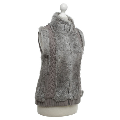 Oakwood Fur Vest in grey