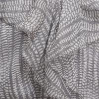 L'Agence Abito in seta in grigio / bianco