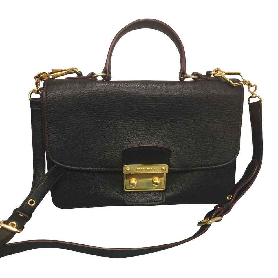Miu Miu Bag zwarte hand