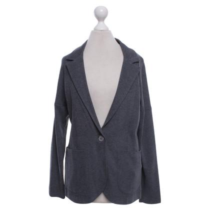 Fabiana Filippi Jersey giacca in grigio scuro
