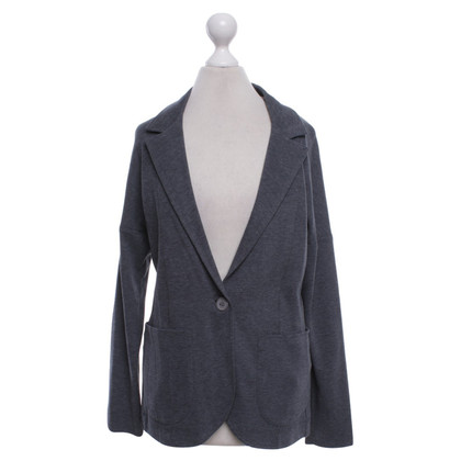 Fabiana Filippi Jersey blazer in dark gray
