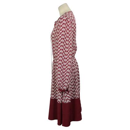 Red Valentino zijden jurk