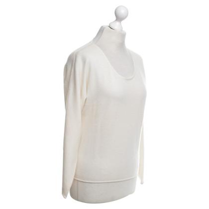 Jil Sander Cashmere sweater in cream