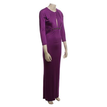 Roberto Cavalli Maxi jurk in Fuchsia