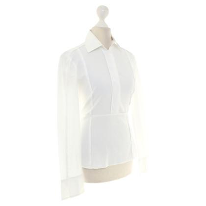 Hugo Boss Hemdbluse in Weiß